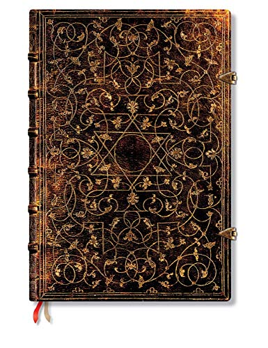 Paperblanks Grolier Grande Hardcover Journal (240 pages, 8.25 x 11.75 Inches)
