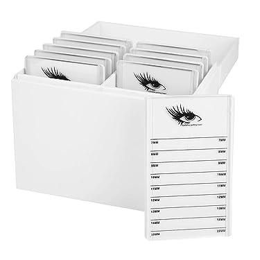 10 Layers Eyelash Extension Storage Box, Acrylic False Eyelash Makeup Organizer Holders, Makeup Cosmetic Case Grafting Eyelash Extension Tool