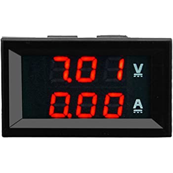 Voltmetro digitale Tensione DC pannello digitale 0-32V LED per Moto Metrer SODIAL R