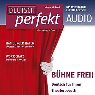 Deutsch perfekt Audio. 1/2013     Deutsch lernen Audio - Gefühle              Autor:                                                                                                                                 div.                               Sprecher:                                                                                                                                 div.                      Spieldauer: 1 Std. und 6 Min.     Noch nicht bewertet     Gesamt 0,0