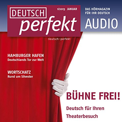Deutsch perfekt Audio. 1/2013 Titelbild