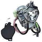 BGTR Accesorios de Motos carburador for Kawasaki KVF 300 KVF300 Pradera 300 Filtro 2X4 4X4 Carb 1999-2002 ATV KVF300B KVF300A con Combustible