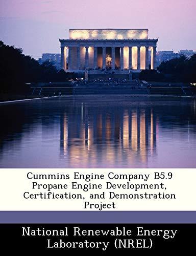 Cummins Engine Company B5.9 Propane Engine Development, Certification, and...