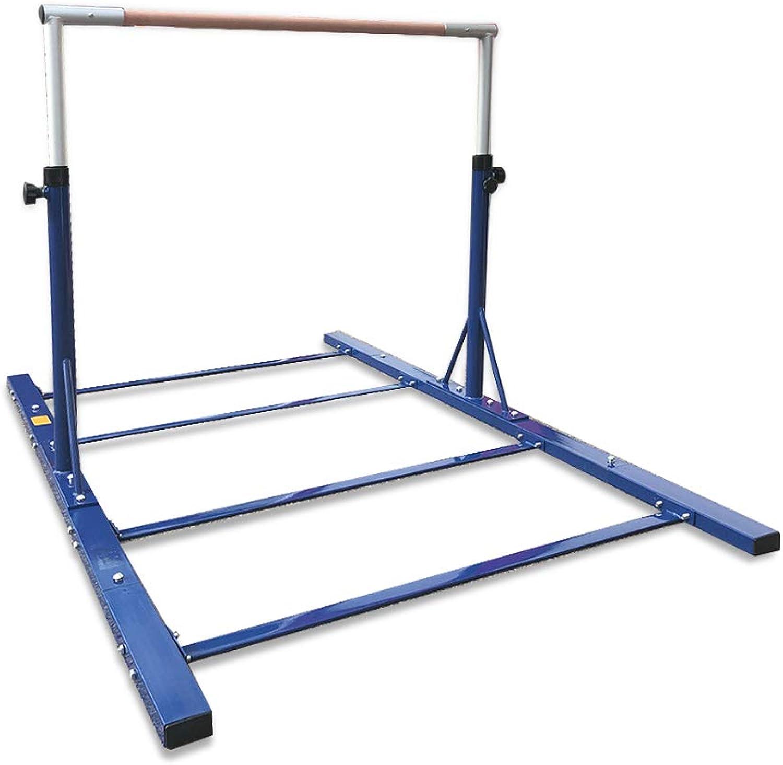 Advanced Gymnastic Horizontal Bar Junior Training Bar Adjustable Height Kip Bar
