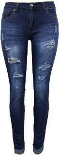 Jeans Slim Fit Glutes Sollevato Piedi Piedi Donne Pantaloni da donna Pantaloni da donna