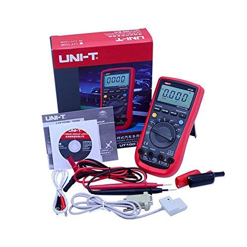 Gtest UT108 UT109 Profesional multímetro Digital automotriz, Rango automático voltímetro de CA/CC DC amperímetro Resistencia capacitancia RS232 Coche de Temperatura,UT109
