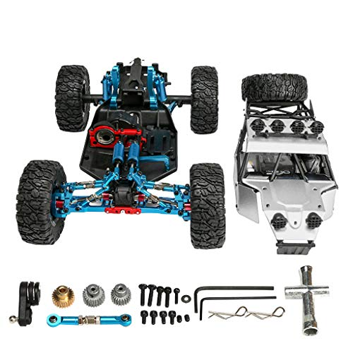 Read About Afazfa Upgrade Metal FY-03H 1/12 RC 4WD Brushless Off Road Truck Car Frame Body Chassis (...