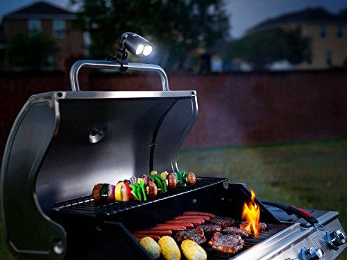 Zeust Sirius 1.0 Barbecue Grill Light - 10 Super Bright LED Lights, Durable, Weather & Heat-Resistant, Long-Lasting BBQ Lamp for Cooking Steaks Perfectly