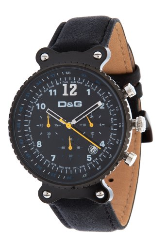 D&G DW0306 - Reloj de Señora Movimiento de Cuarzo con Correa de Piel