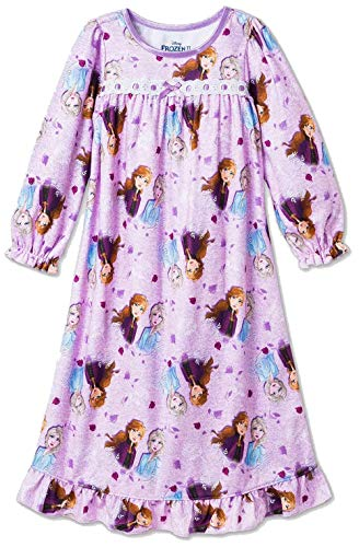 Disney Girls' Frozen Nightgown, Frozen Best Sisters, Size 2T