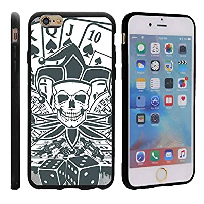 TurtleArmor | Compatible for Apple iPhone 6 Case | Apple iPhone 6s Case [Flexible Armor] Resistant Slim Fitted Flexible TPU Case Soft Bumper Cover Sports and Games Design - from TurtleArmor