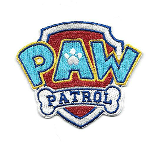 Paw Patrol Embroidered Iron On/Sew On Patch