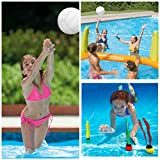 Intex Pool Fun Set - Pool Volleyball and Underwater Dive Balls Set