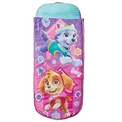 2 in 1 Paw Patrol Airbed And Sleeping Bag from ReadyBed With pump and handy carry bag included you'll go from bag to bed in minutes Cosy, machine washable cover means you can keep the air bed cover and sleeping bag snuggly, clean and fresh Ideal camp...