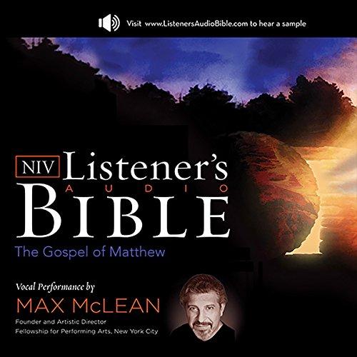 The NIV Listener's Audio Bible, the Gospel of Matthew cover art