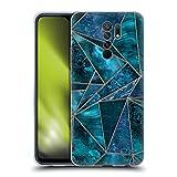Head Case Designs Licenciado Oficialmente LebensArt Stained Glass Gemstone Marble Carcasa de Gel de Silicona Compatible con Xiaomi Redmi 9