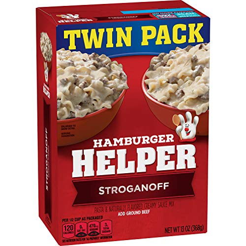 Hamburger Helper, Stroganoff Pasta and Creamy Sauce Mix, 13 oz