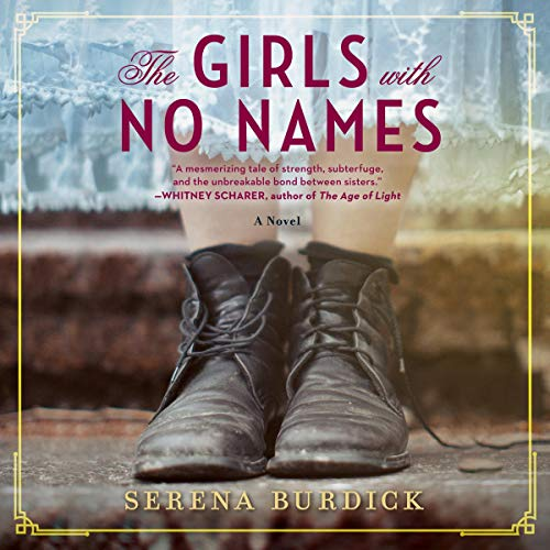 The Girls with No Names audiobook cover art