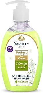 YARDLEY LONDON Morning Fresh Antibacterial Handwash with 100% Germ Protection, 250ml