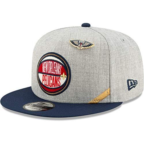 New Era Gorra 9Fifty Draft Heather PelicansEra Plana NBA Cap (Talla única...
