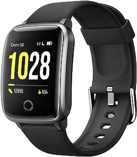 Willful Smartwatch Orologio Fitness Uomo Donna Fitness Tracker Contapassi Calorie Cardiofrequenzimetro da polso Impermeabi...