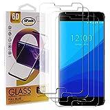 Guran 4 Paquete Cristal Templado Protector de Pantalla para UMIDIGI C Note Smartphone 9H Dureza Anti-Ara?azos Alta Definicion Transparente Película