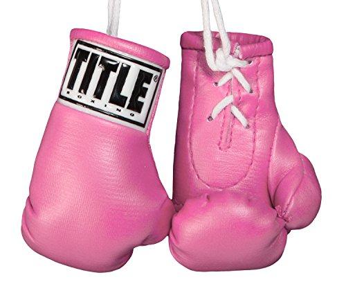Title Boxing Mini Boxing Glove, Pink