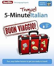 Berlitz 5-Minute Travel Italian (Italian Edition)