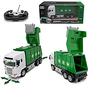 RC Toy Garbage Truck - Garbage Truck Toy for Boys - Garbage Truck Toys for Kids