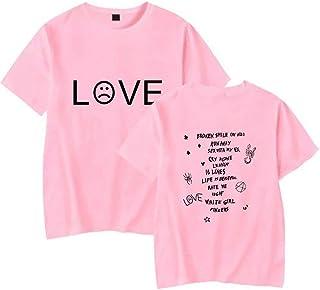 ZYOONG R.I.P Rapper T Shirt Rap Hiphop LilPeep Men Women Cool T-Shirt Graphic Print Tee Hip Hop Tops Cotton Hip Hop T-Shir...