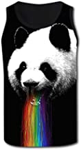 panda throwing up rainbow shirt