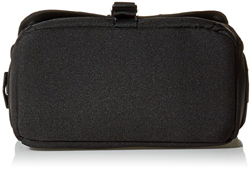 AmazonBasics Medium DSLR Camera Gadget Bag - 12 x 5 x 8 Inches, Black and Orange