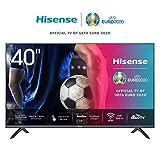Hisense 40AE5500F 100cm (40 Zoll) Fernseher (Full HD, Triple Tuner DVB-C/S/S2/T/T2, Smart-TV, Frameless) [Modelljahr 2020]