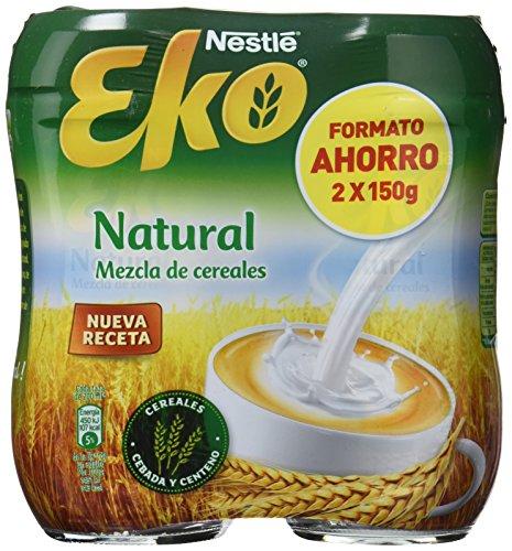 Nestlé EKO Cereales Solubles Sabor Natural - 2 Paquetes de 150g - Total: 300 g