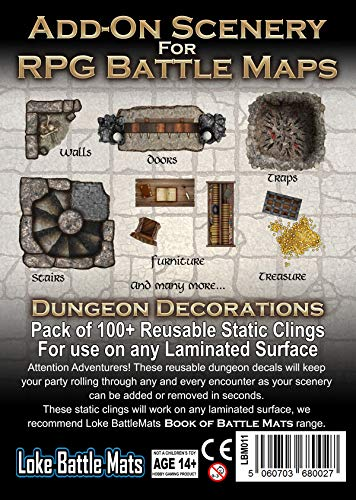 Loke Add-On Scenery for RPG Maps - Dungeon Decorations