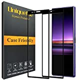 UniqueMe for [2 PACK] Sony Xperia 1 Screen Protector, Full