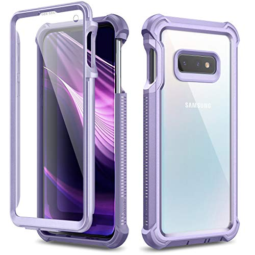 Dexnor Cover per Samsung Galaxy S10e Cassa del Telefono paraurti in Silicone a 360 Gradi Trasparente Antiurto Leggero Custodia Angoli Rinforzati con Protezione...