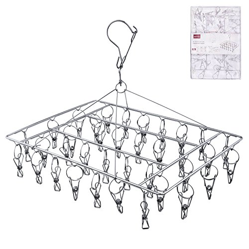 Rosefray 36 Wires Laundry Rack, Stainless Steel Clothes Racks for Hanging Clothes, Clothes Dryer