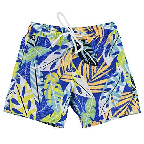Splash About Boys Swim Shorts, Soaked-Costume da Bagno per Ragazzi, Paradiso della Giungla, 8-9 Anni