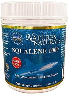 スクワレン 深海鮫の肝油 1,000mg サプリメント GMP認定 200粒 約200日分 オーストラリア産