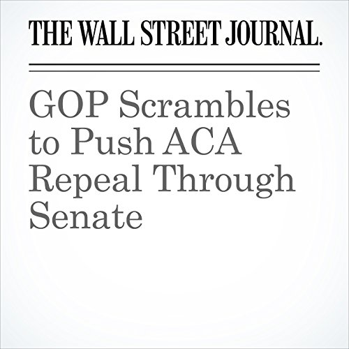 GOP Scrambles to Push ACA Repeal Through Senate copertina
