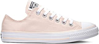 Converse All Star Lo Top Frayed Lines Washed Coral/White Womens 11