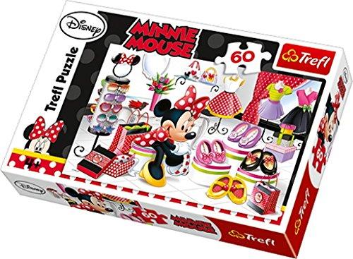 TREFL - Puzzle Minnie Mouse de 60 Piezas (21.3x14.3 cm) (17225)