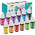 12-Pack ValueTalks Cake Food Edible Coloring Set (4.2 Fl. Oz)