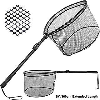 PLUSINNO Fishing Net Fish Landing Net, Foldable...