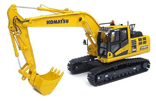 Universal Hobbies - UH 8107 - Excavadora - Komatsu Pc200I-10 - Control de la máquina Inteligente - Escala 1/50 - Amarillo