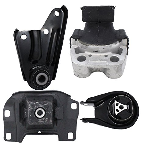 ENA Engine and Trans Mounts 4pc Set Compatible with 2004-2010 Mazda 3 5 2.0L 2.3L