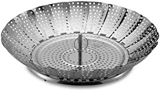 Stainless Steel Collapsible Vegetable Steamer 12 Inch