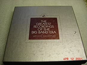 2 Audio Music Cassette Set Of The Greatest Recordings of The Big Band Era Archive Of DIZZY GILLESPIE AND HIS ORCHESTRA and ROGER WOLFE KAHN AND HIS ORCHESTRA and ART MOONEY AND HIS ORCHESTRA and SI ZENTNER AND HIS ORCHESTRA and ARTIE SHAW AND HIS ORCHESTRA. Box set with booklet.