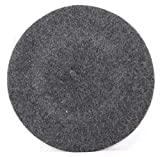Women's Quality Beret Hat Wool French Beret (Dark Grey)